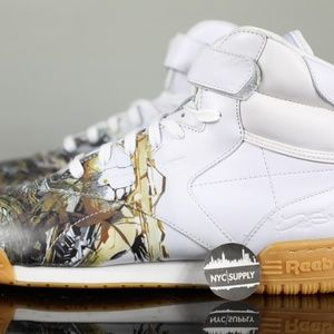 Reebok City Classic Paris Exofit Hi Clean Logo
